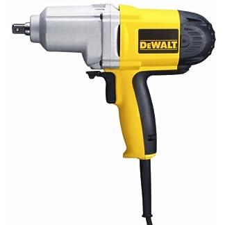 Dewalt DW292-QS Llave impacto 1/2″ 710W 440Nm M20, 710 W, 230 V, Negro y amarillo