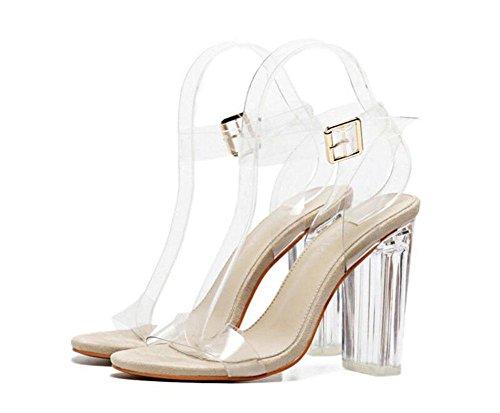 Chaussures à bout ouvert Shinik grises HMTUqi