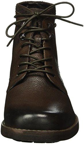 Clarks Stiefel Clarks Brown Herren Herren Kurzschaft Braun Braun Ashburn Stiefel Ashburn Leather Kurzschaft Dark p1HanA