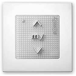 Somfy Module sensitif SMOOVE Origin RTS blanc commande de mural