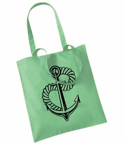 Chicken Shed Clothing , Damen Tote-Tasche Grün - Mint