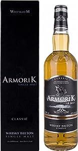 Armorik Classic Breton Single Malt Whisky, 70 cl from Warenghem