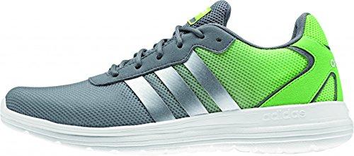 adidas Cloudfoam Speed, chaussures de sport homme Gris / Argenté / Blanc (Gris / Plamat / Ftwbla)