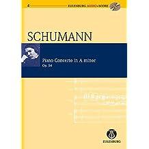 Piano Concerto in A minor Opus 54 - en la mineur - Format Poche + CD