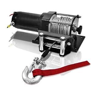 Treuil electrique 12 V - 1360 Kgs avant/arriere avec télécommande REF 27835