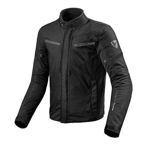 *REVIT LUCID Herren Motorrad Textiljacke Touring – schwarz Größe 3XL*