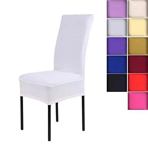 black spandex chair covers