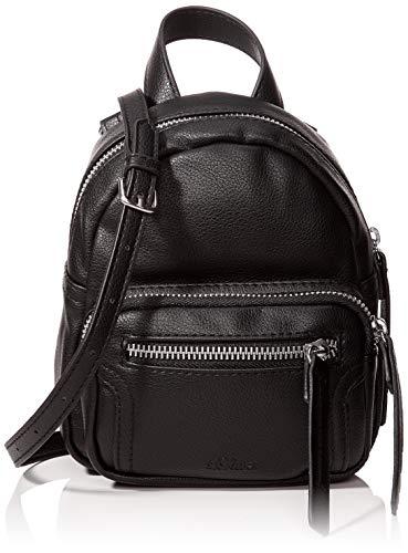 s.Oliver RED LABEL Damen Mini-Rucksack in Leder-Optik black 1