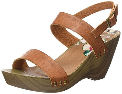 Coolway Caiman, Sandales Bout Ouvert Femme brown (CUE)