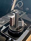 Cable Technologies Cup Charger pour IQOS® 3 Multi Noir Chargeur pour Cigarette électronique IQOS® 3 Multi, avec cendrier et boîtier pour Nettoyeur IQOS®, Porte-gobelet de Voiture