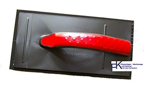 1 Stück Fugscheibe Fugbrett 28*14 cm Fliesen Fugen schwarz weich
