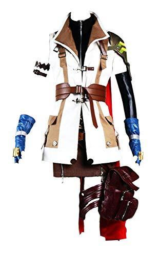 Chong Seng CHIUS Cosplay Costume Outfit for Lightning Claire Farron Version - Lightning Farron Cosplay Kostüm