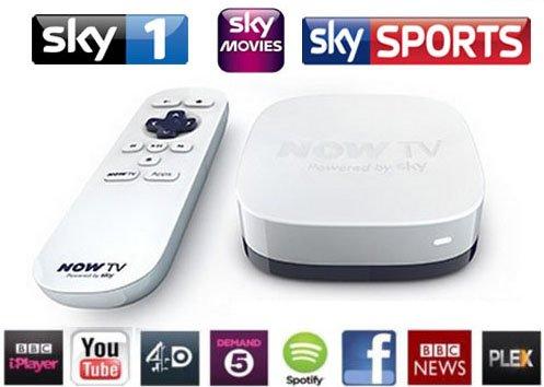Now TV Box & PLEX Installed -YouTube - ITV Player - BBC