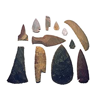Maximum Stone Age - Set experimental archeology hands-on school material (reproductions)