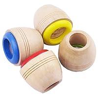 Sanjose81 Best Wooden Educational Kaleidoscope Baby Children Learning Puzzle Sensory Toy