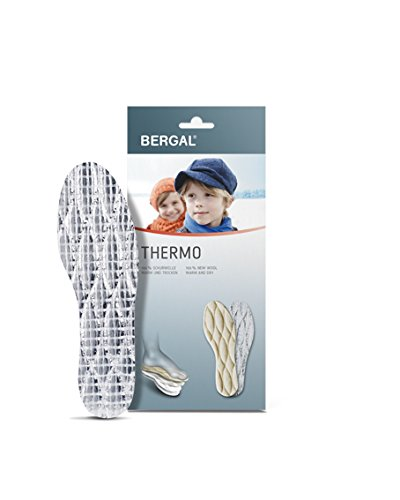 Kinder Thermo Einlegesohlen mit Aluschicht aus 100 % Schurwolle von Bergal (29)