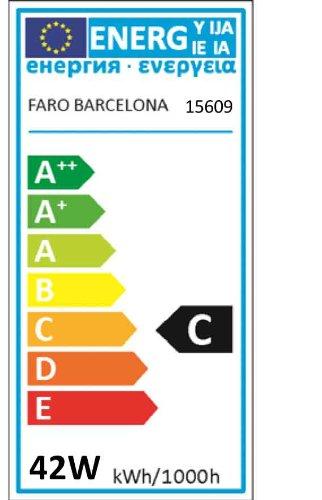 Faro 15609 - Bombilla b35 vela ecohalógena (e27, 42w, 630lm)