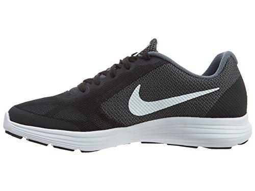Nike Jungen Revolution 3 (Gs) Low-Top Schwarz (Schwarz)