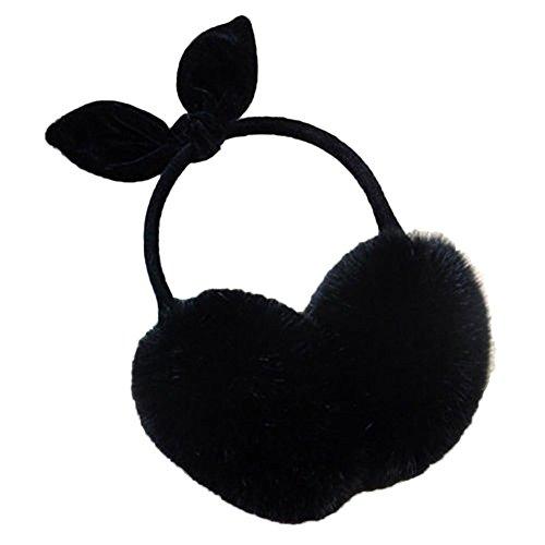 Bluelans - Cache-oreilles - Femme taille unique Noir