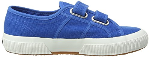 Superga 2750 Jvel Classic, Sneaker Unisex – Bambini Blu (Blau (Sea Blue))