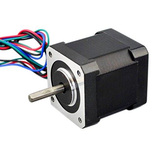 NEMA 17HS19-2004S1 Schrittmotor für 3D-Drucker, CNC-Roboter, 1,8 Grad