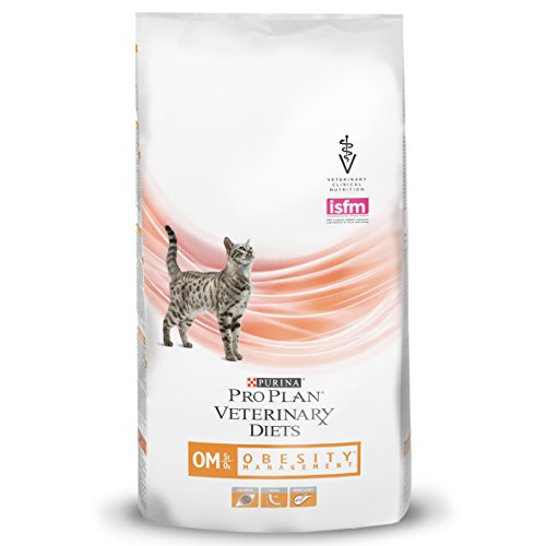 Purina Pro Plan Veterinary Diets Dry Cat Food Om St/Ox Obesity Management Clinical Diet, 1.5 kg