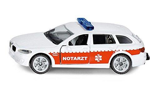 Siku 1461 - Notarzt-Einsatz-Fahrzeug, weiß/rot , Modell sortiert
