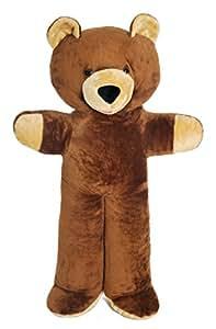 Grand nounours brun 170cm, peluche géante énorme!