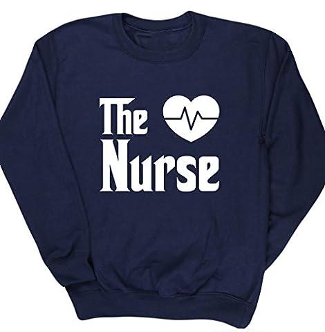 HippoWarehouse The nurse kids unisex jumper sweatshirt pullover