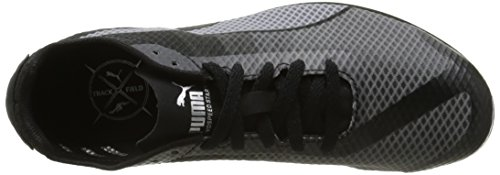 Puma - Evospeed Star V4, Sneaker Bambino Noir (Quarry/Black/Silver)