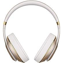 Beats by Dr. Dre Studio Wireless - Auriculares de diadema cerrados (reducción de ruido), color oro