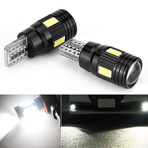 Éclairage de la voiture, 2 PCS SMD-4014 LED Ampoule 6000K Blanc Super Lumineux 168 2825 W5W T10 Décodeur Remplacement, Pour Voiture Dôme Carte Côté Marqueur Porte Autorisation De Plaque D'éclairage Lu