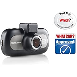 Nextbase 412GW 1440p QUAD HD In-Car Dash Camera Digital Driving Video Recorder with Wi-Fi - Black (Renewed)