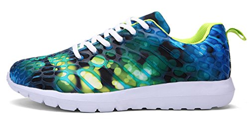NEWZCERS , Chaussures d'athlétisme pour femme Vert