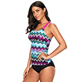 Eachbid Womens Bohemian Floral Printed Underwired Bikini Top Strappy Sling Tankini Beachwear Without Botttom
