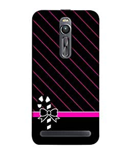 Asus Zenfone 2 ZE551ML Back Cover Bow With Ribbon Design From FUSON