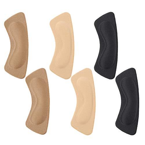 GroßZüGig 3 Pairs Silikon Back Heel Liner Frauen Füße Anti-tragen Kissen Einlegesohle Pads Einlagen & Kissen
