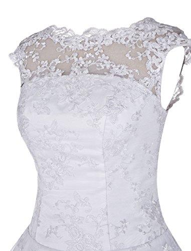 Find Dress Charmant Robe Desigual d'Anniversaire Fête Gala Sirène Robe de Mariée Longue Cérémonie Femme Style Classique en Dentelle Floral Vert