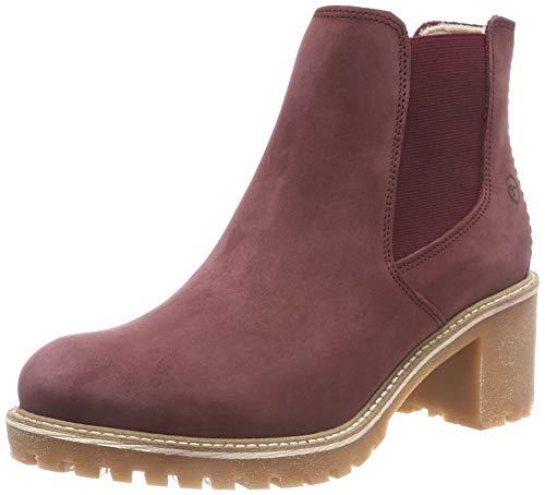 Tamaris Damen 25447-21 Chelsea Boots, Rot (Bordeaux 549), 39 EU
