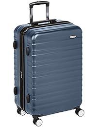 AmazonBasics - Trolley rigido Premium con rotelle pivotanti e lucchetto TSA integrato