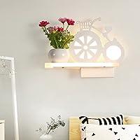 & Wandleuchten Dekorative Wandlampe LED Schlafzimmer Nachttischlampe Wandlampe Junge Mädchen Kind Zimmer Persönlichkeit... preisvergleich bei billige-tabletten.eu
