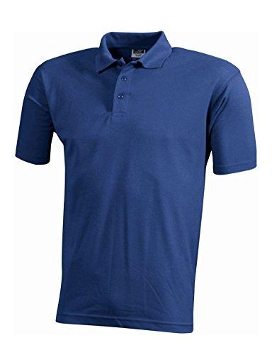 Herren Arbeits Polohemd Polo Shirt strapazierfähig pflegeleicht Royal