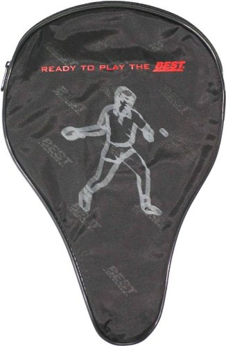 Best Sporting Tischtennisschläger-Tasche mit Ballfach