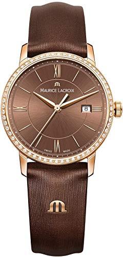 Maurice Lacroix Eliros EL1094-PVPD1-710-1 Orologio da polso donna con diamanti autentici