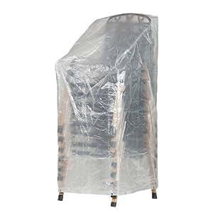 klassik schutzh lle f r stapelst hle gartenst hle aus pe. Black Bedroom Furniture Sets. Home Design Ideas