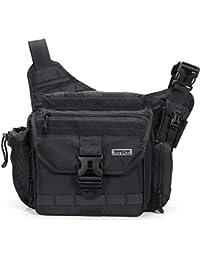 Lifewit Laptoptasche Herren 17 Zoll Taktische Umhängetasche Militärischer Schultertasche Wasserdicht aus Nylon