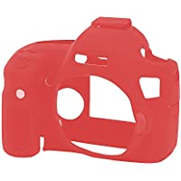 Easycover ECC6DR Silicone Red camera housing - Camera Housings (140 mm, 85 mm, 110 mm, 88 g, Silicone, Red)