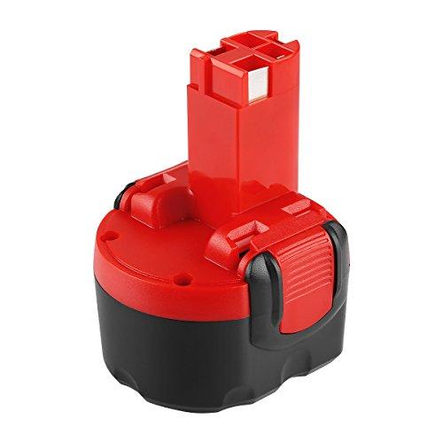 POWER-XWT 3,0Ah 9,6V Akku Ni-MH Ersatzakku für Bosch 2607335272 2607335461 PSR960 GSR9.6 9,6V Ersatz Akku Werkzeuge