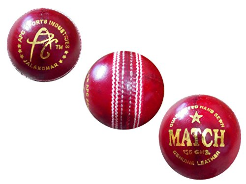 APG-English-Red-Leather-Cricket-Ball-MATCH-Pack-Of-1-Ball