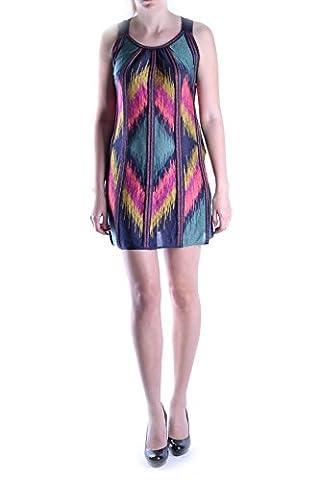 Missoni Damen Mcbi334003o Multicolour Polyamid Kleid (Missoni Multi Color)